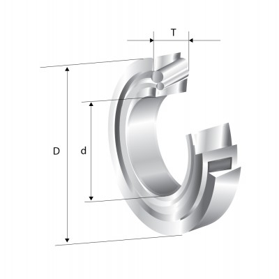 Rulment radial - axial cu role conice pe un rand 30203 NSK