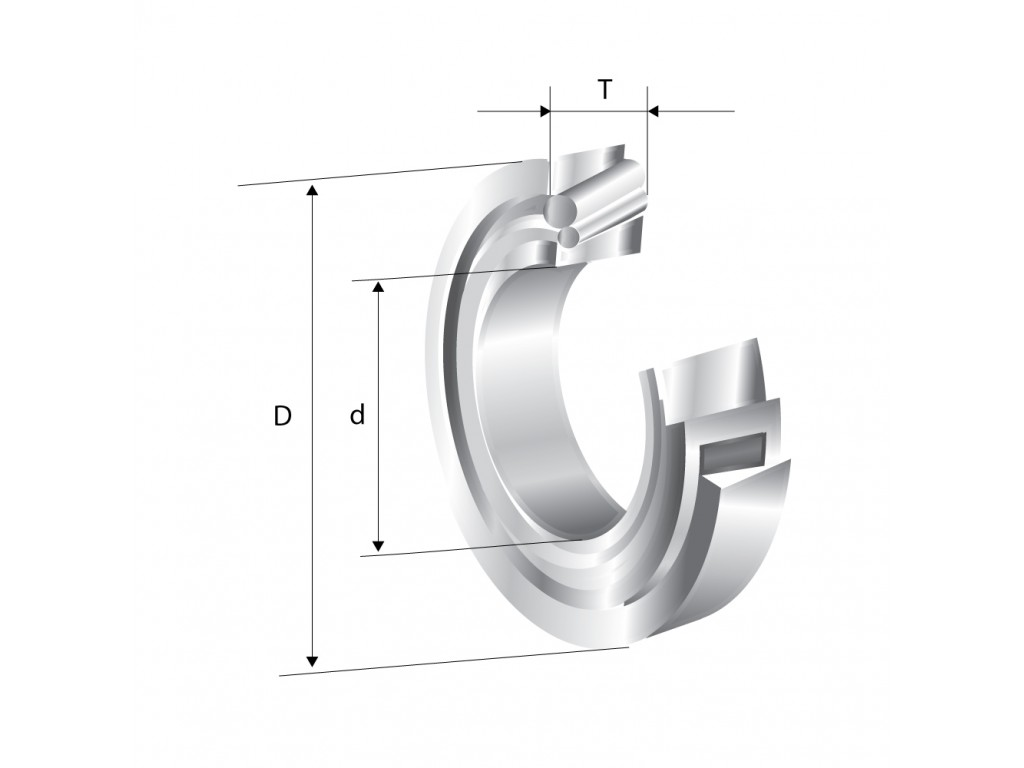 Rulment radial - axial cu role conice pe un rand 30207 NSK